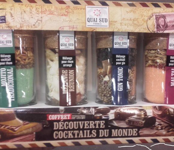 J'ai testé pour vous coffret  4 cocktails du monde à faire… un joli cadeau