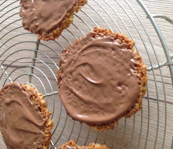Biscuits au chocolat et aux flocons d'avoine
