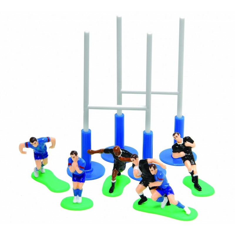 J'ai testé le Kit Déco Gâteau Rugby