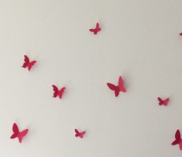 J'ai testé pour vous deco papillon de chez Zodio