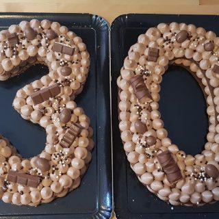 Number cake kinder
