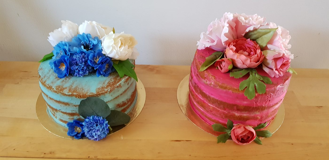 Naked cake pour une baby shower