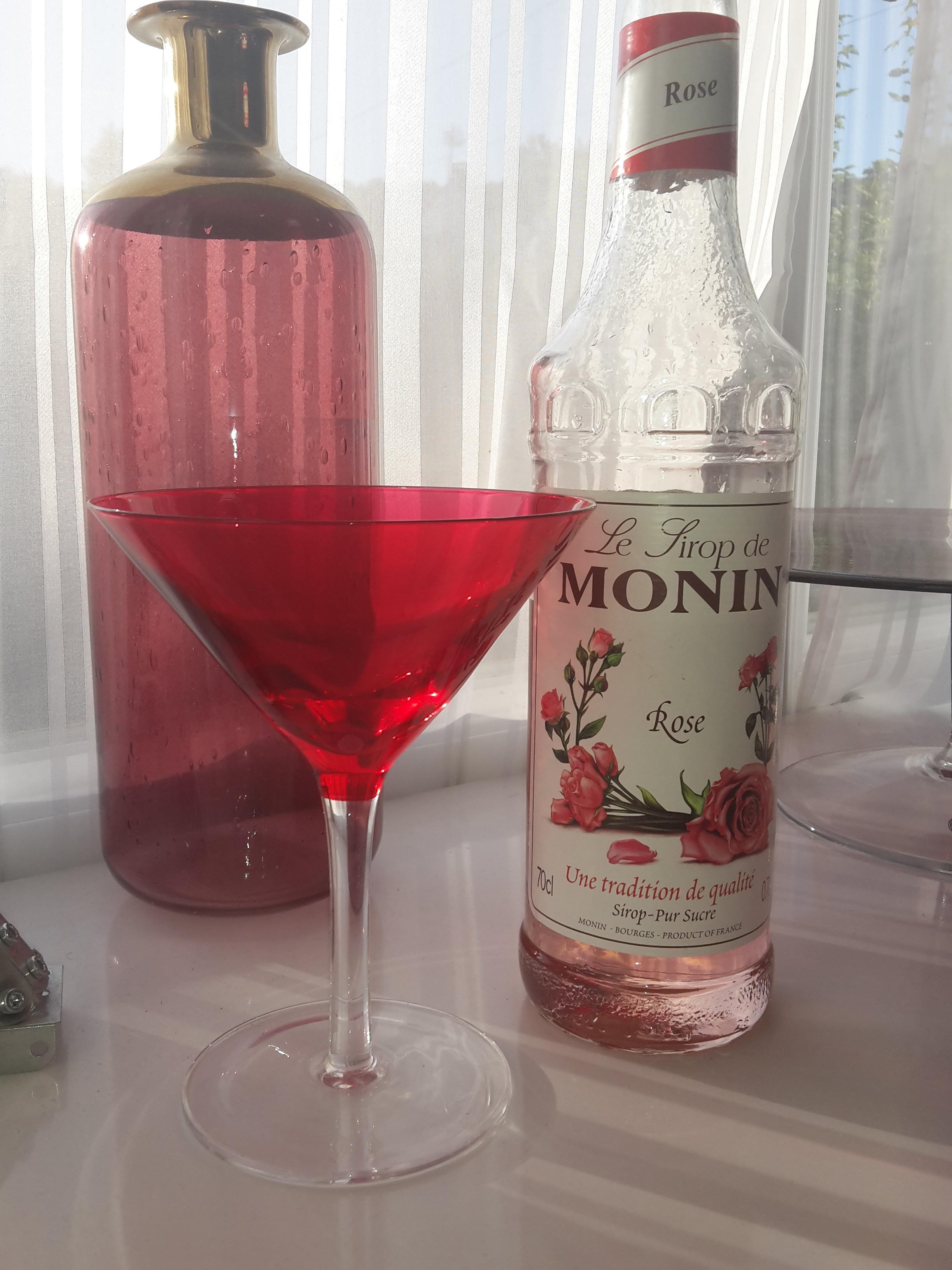 J'ai testé pour vous sirop à la rose Monin