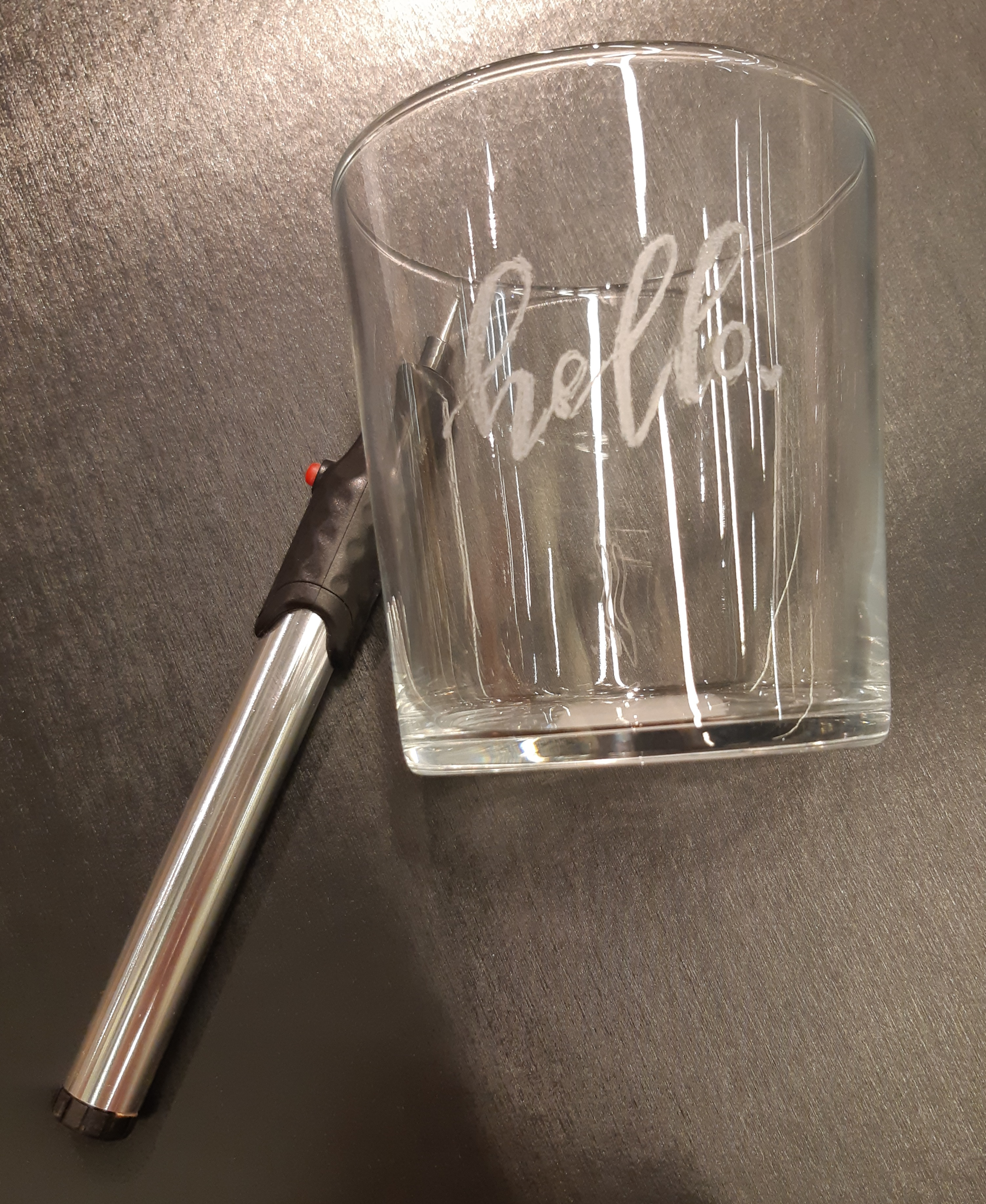J'ai testé pour vous stylo graveur verre