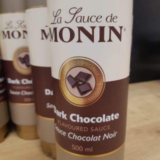 J'ai testé la sauce Monin au chocolat