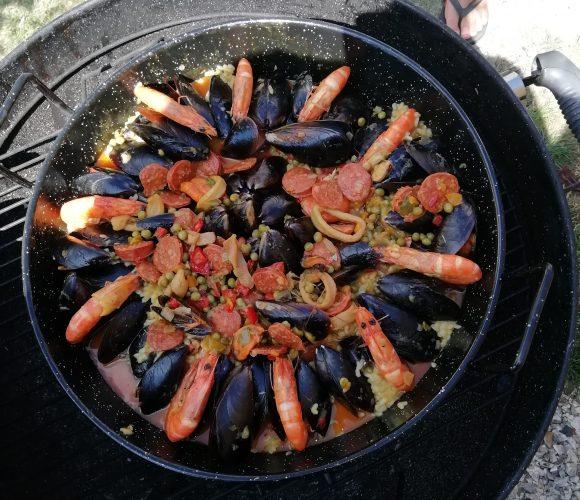 Paella à l ancienne