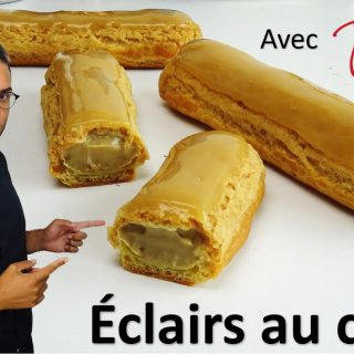 ÉCLAIRS AU CAFÉ