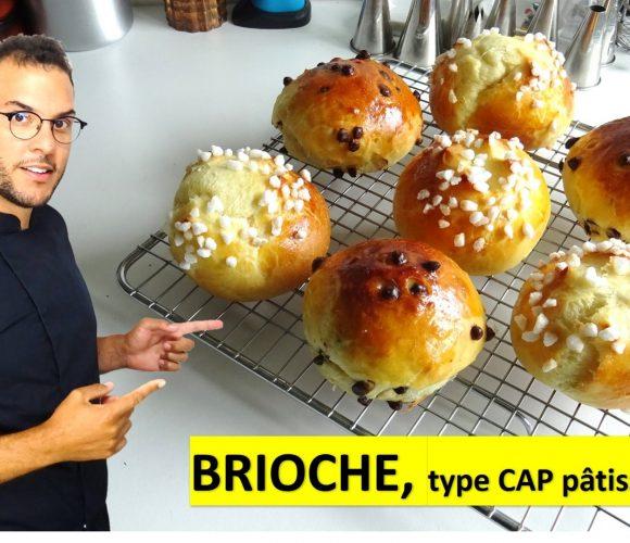 BRIOCHE, type CAP pâtisserie