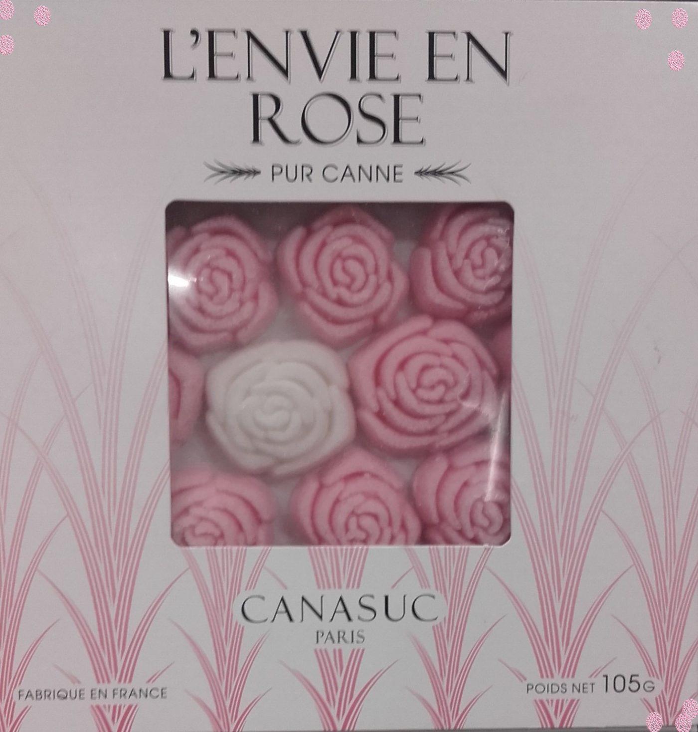J'ai testé pour vous l'ENVIE EN ROSE morceaux de sucre sans colorants artificiel