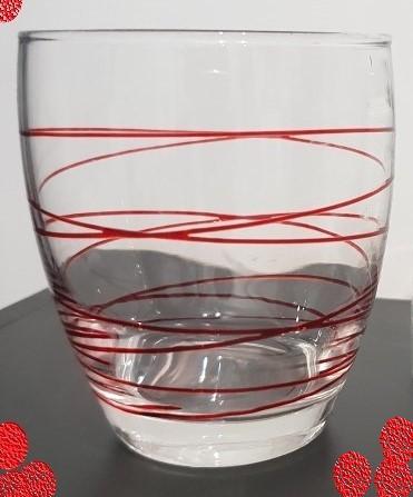 J'ai testé pour vous verre motif spirale rouge Swirl  Montana
