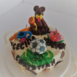 Gâteau Anniversaires multiples