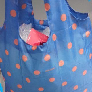 J'ai testé pour vous sac à courses pliable pour le sac à main