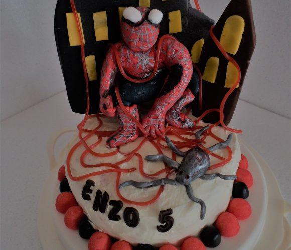 Gâteau Spider Man