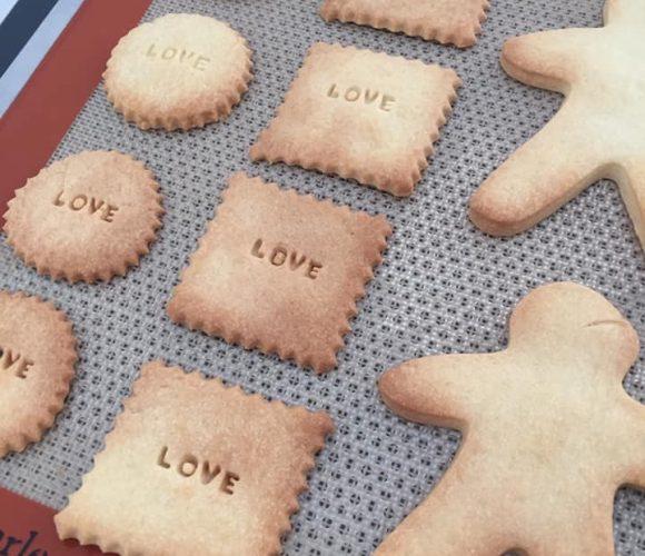 J'ai testé pour vous le kit message pour biscuits