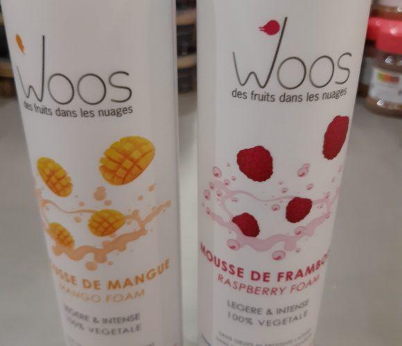 Les mousses de fruits Woos