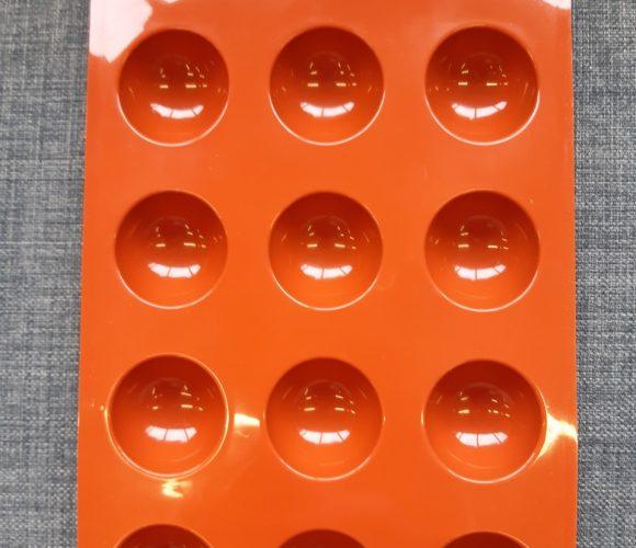 Moule demi-sphères en silicone