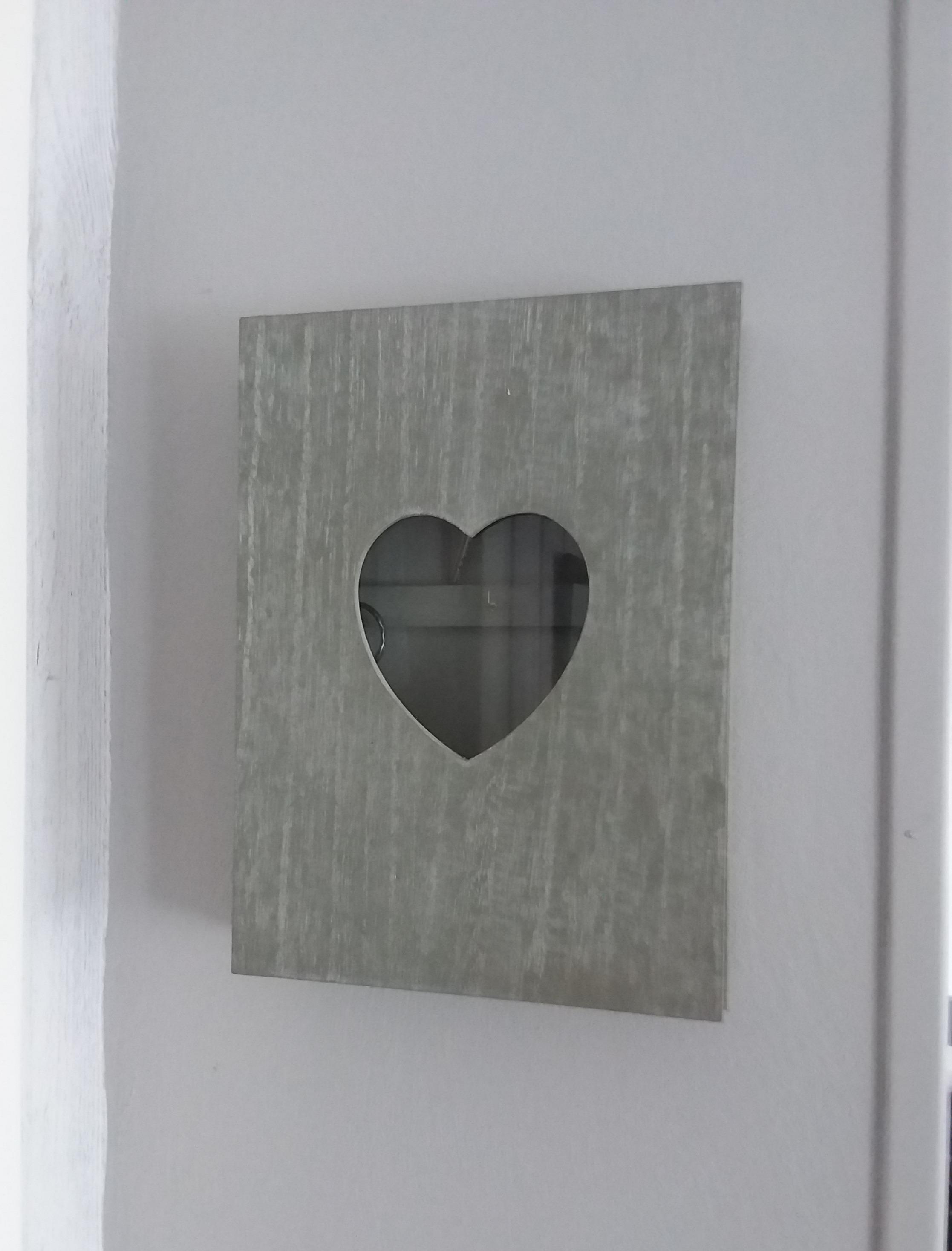 Le boîte à clé coeur