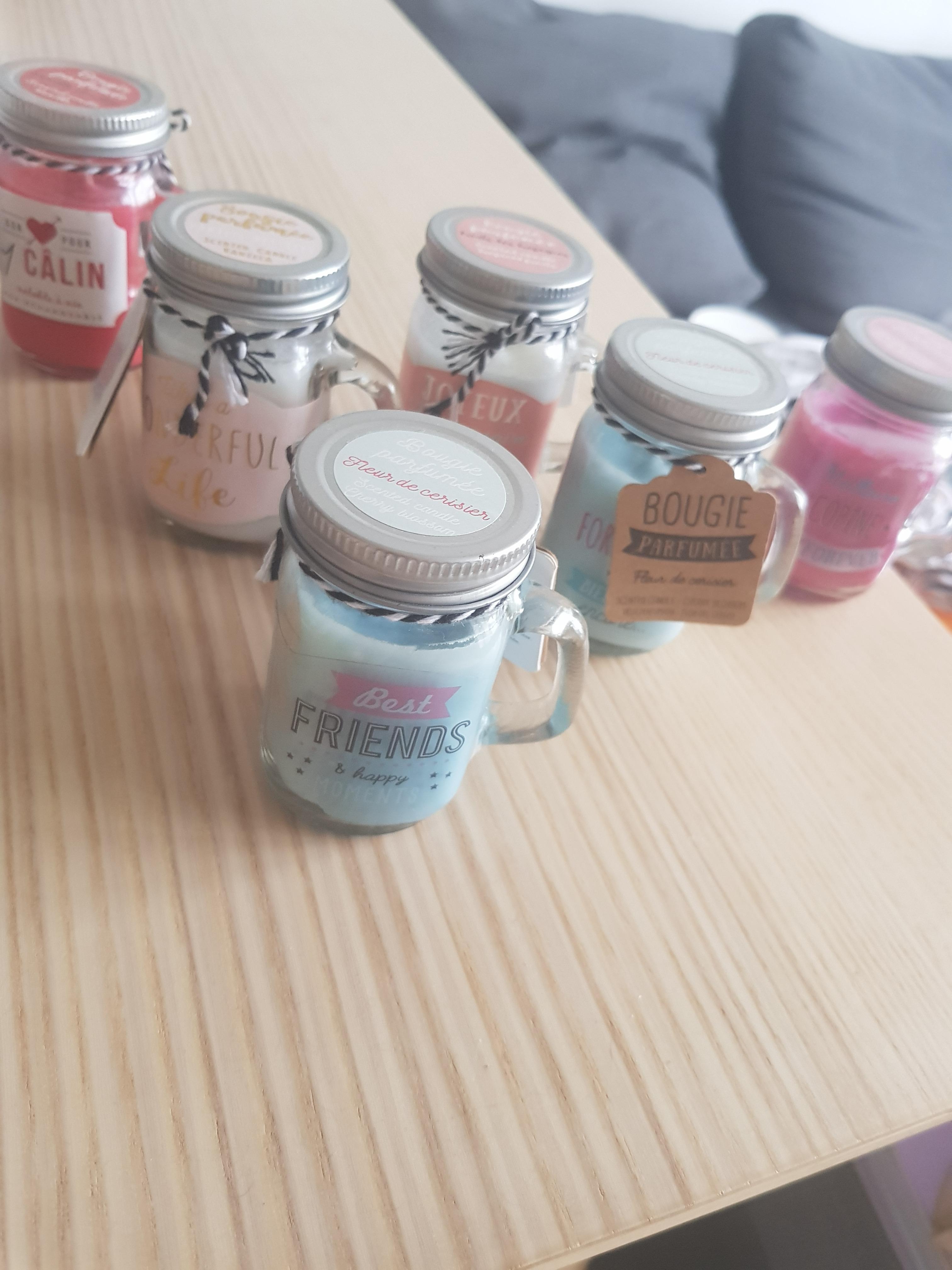 J'ai testé pour vous les bougies mug jar