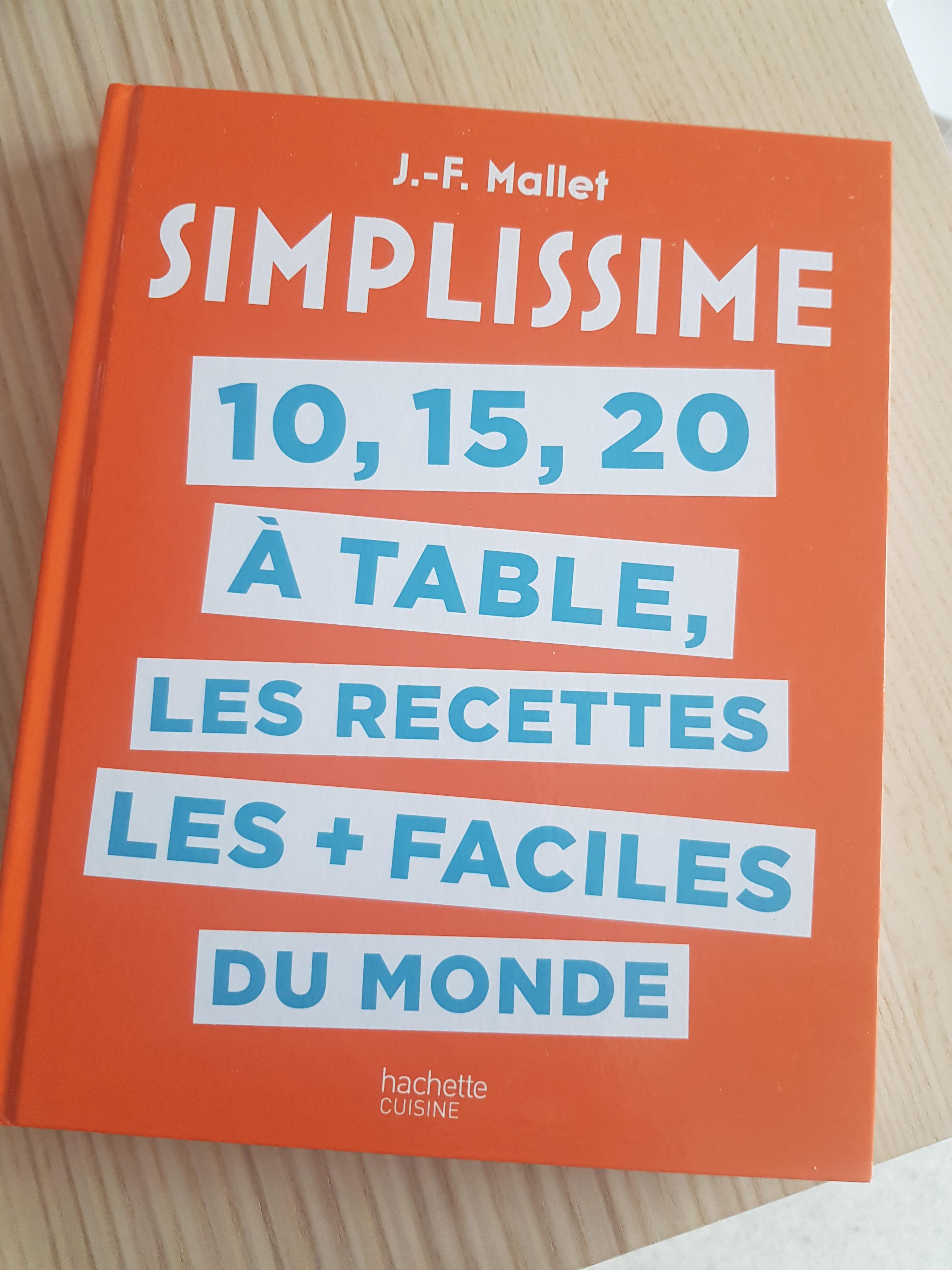 J'ai testé pour vous simplissime 10 15 20 à Table
