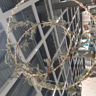 Suspension couronne de Noël