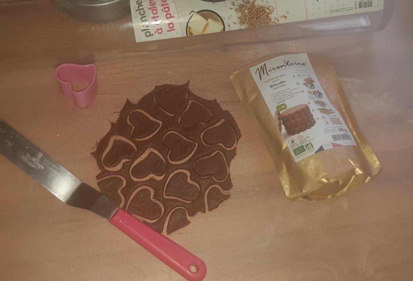 J'ai testé pour vous preparation pour biscuits au chocolat