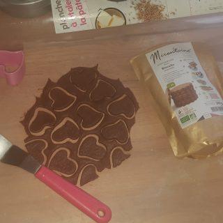 """J'ai testé pour vous preparation pour biscuits au chocolat """"Mirontaine"""""""