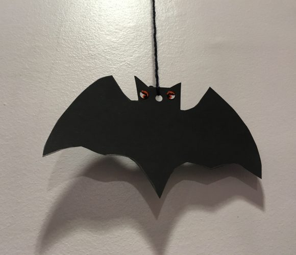 Une décoration d'enfer ! Halloween : Ma chauve-souris Terrifiante !