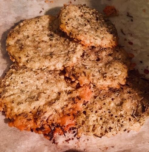 Mes cookies au parmesan et herbes de provence
