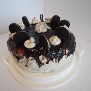 Gâteau au chocolat et oréo
