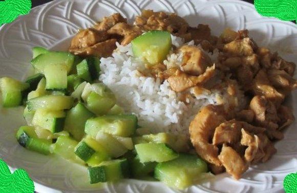 Dinde au curry