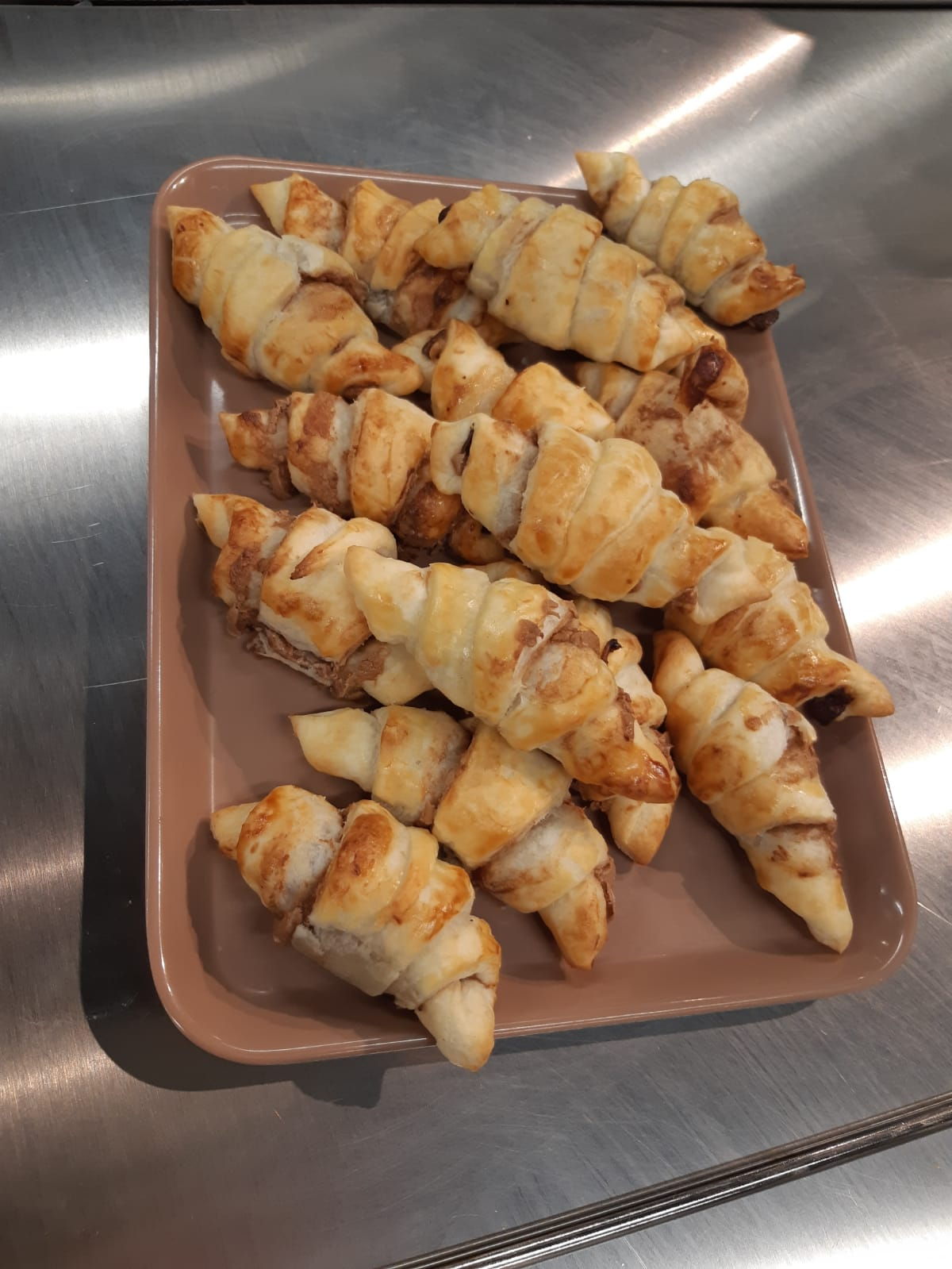 Les mini croissants