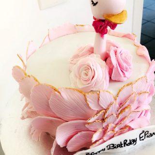 Cake design cygne
