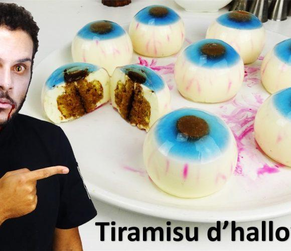 TIRAMISU D'HALLOWEEN EN TROMPE L'ŒIL