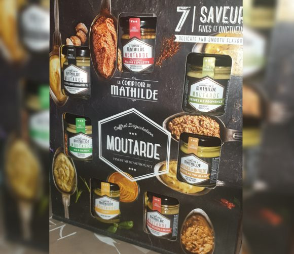 Coffret dégustation moutarde Le comptoir de Matilde