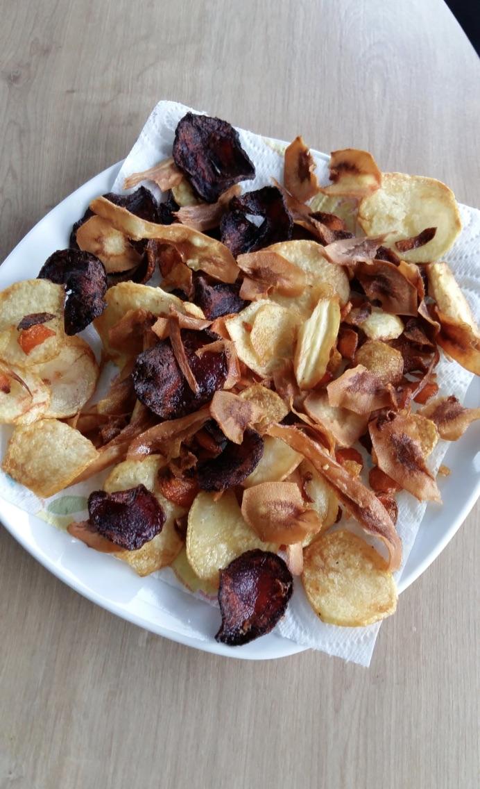 Mes chips de légumes