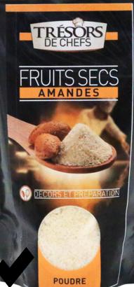 J'ai testé pour vous amande en poudre fine + une recette facile et délicieuse