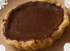 Tarte au Nutella et petit suisse