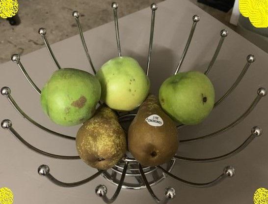 J'ai testé pour vous corbeille métal chromé pour fruits