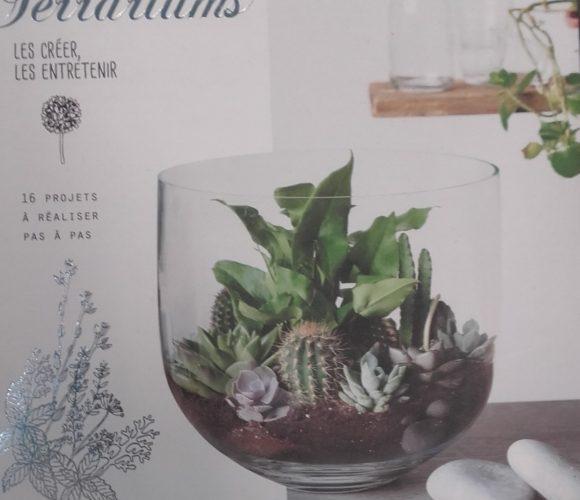 J'ai testé pour vous livre comment créer un terrariums
