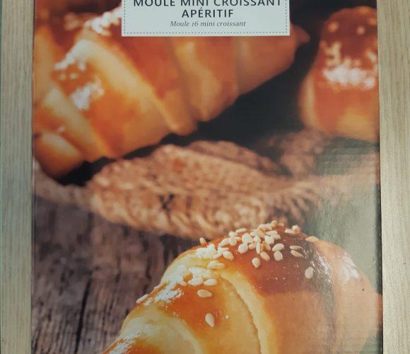 Moule mini croissant apéritif