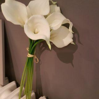 J'ai testé pour vous bouquet de 8 arums H36