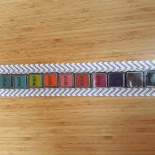 J'ai testé pour vous l'Ensemble d'encreurs à tampons de couleurs Toga