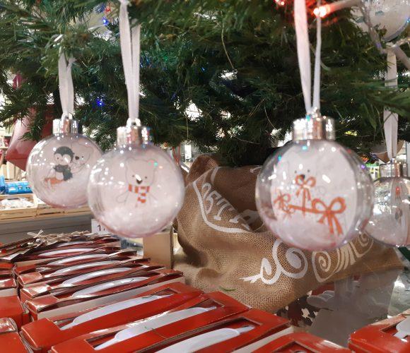 DIY CHRISMAS: faire ses boules de Noel!!!!