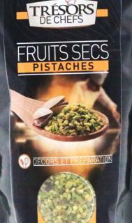 J'ai testé pour vous pistaches hachées  TRESOR DES CHEFS