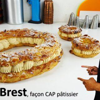 PARIS-BREST, façon CAP pâtissier