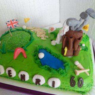 gâteau golf!!!