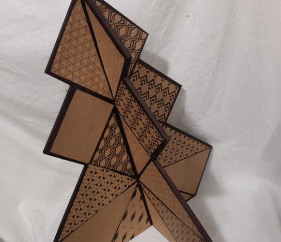 Mon sapin origami.
