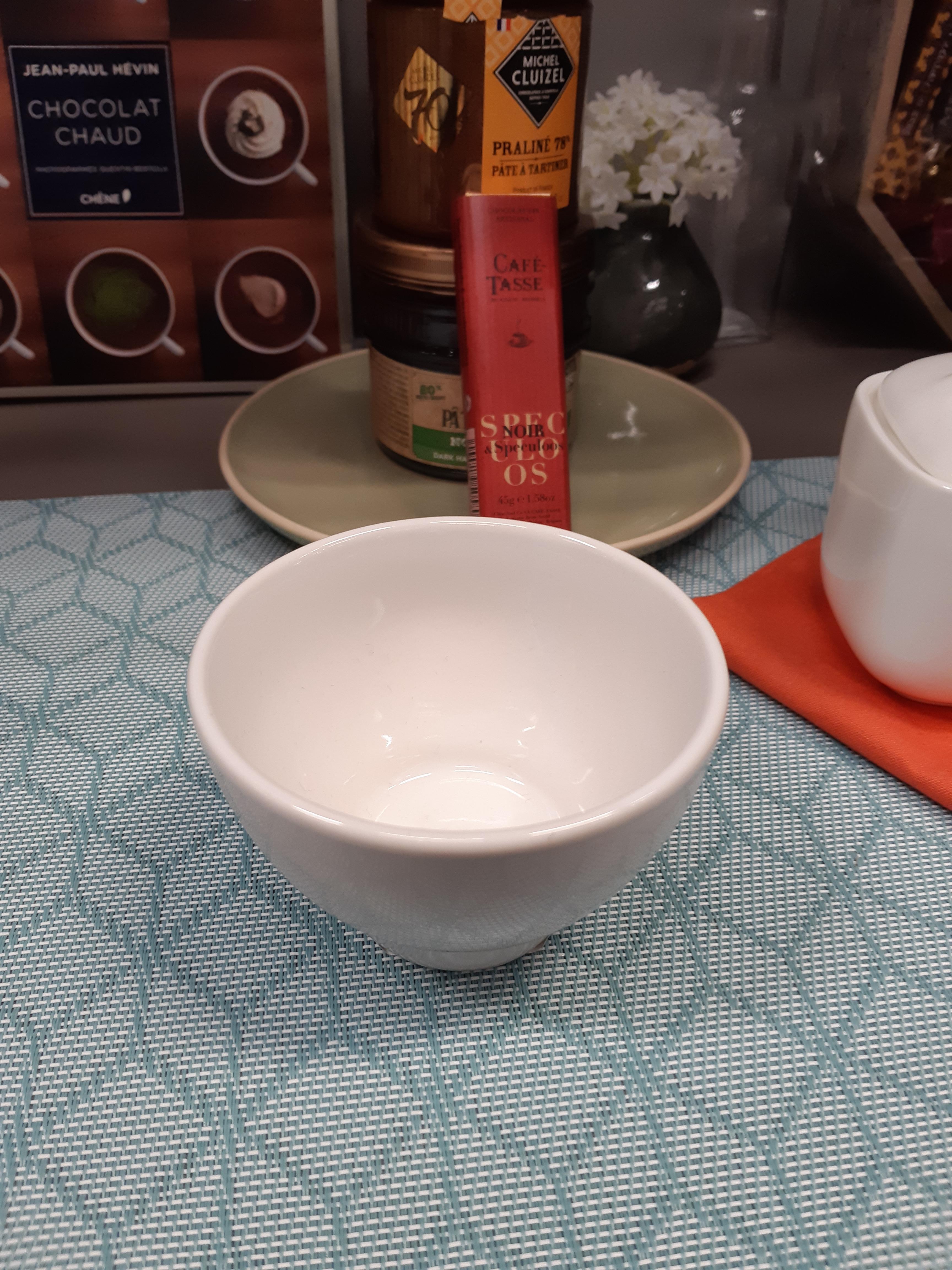 J'ai testé pour vous mon sable a l'italienne avec ma tasse blanc lisse