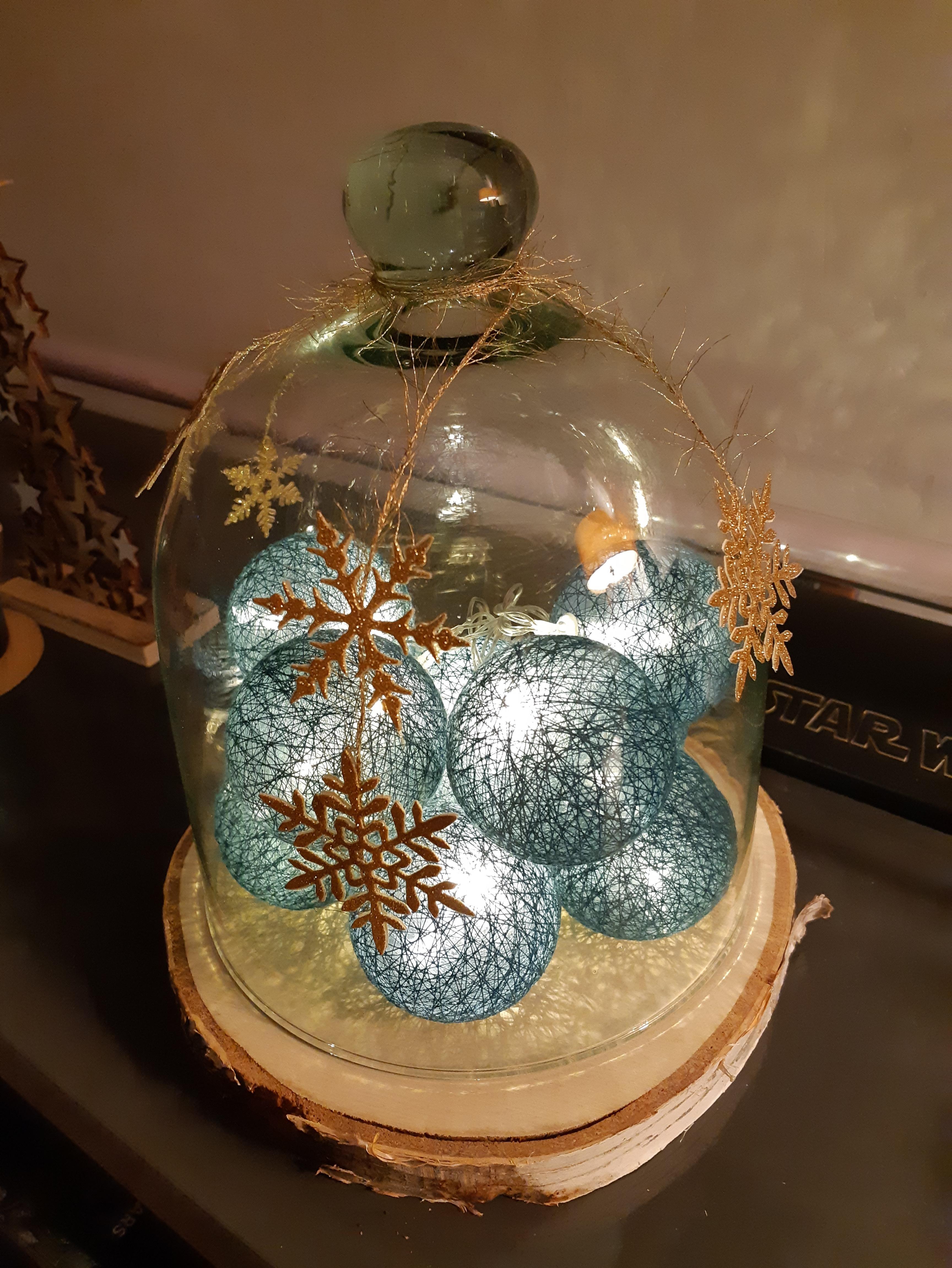 J'ai testé pour vous le rondin de bois pour créer une cloche de Noël