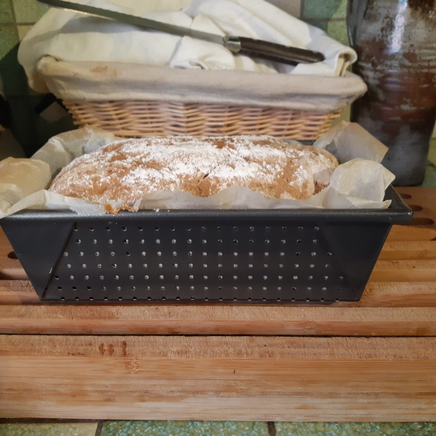 J'ai testé pour vous le moule à  pain perforé